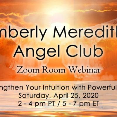 Angel Club April 25