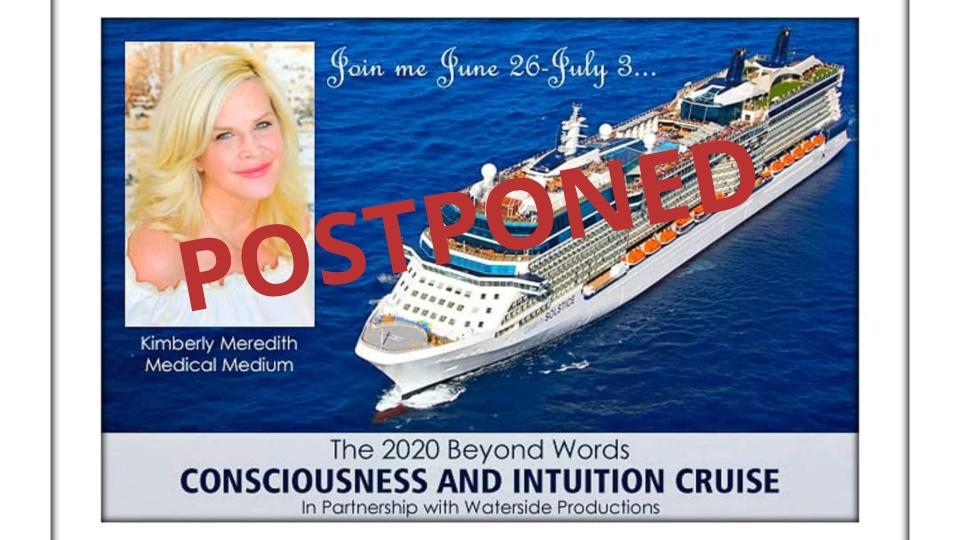 Cruise Postponed