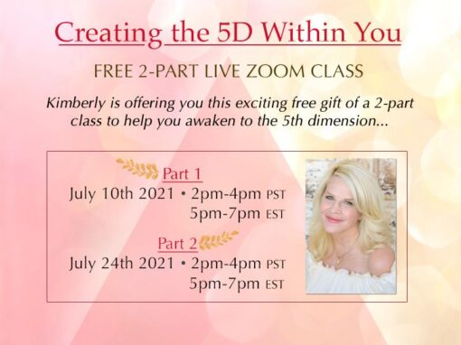Creating the 5 D Within