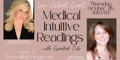 Medical Intuitive Readings Meets Essential Oils 10.7.21