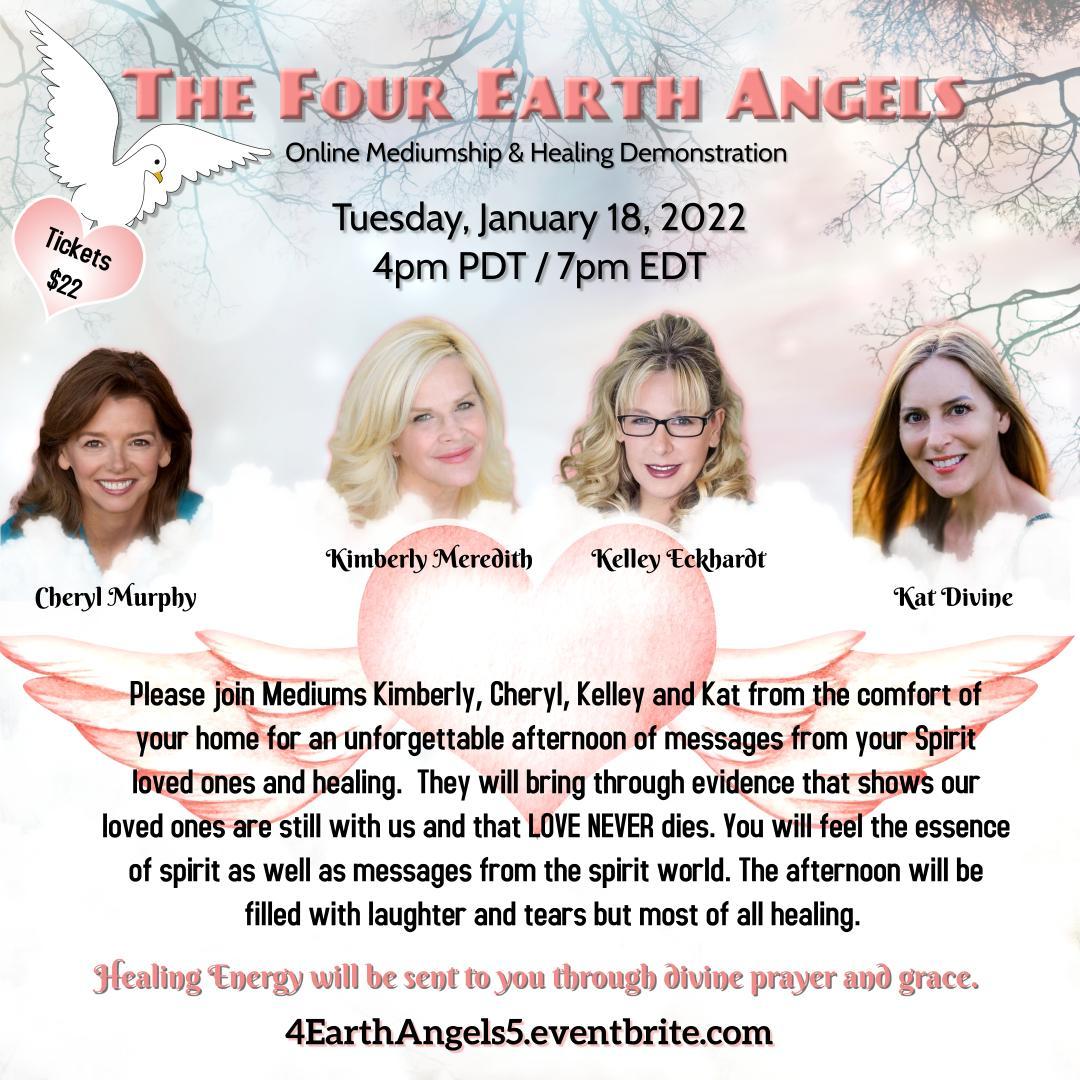 4 Earth Angels January 2022