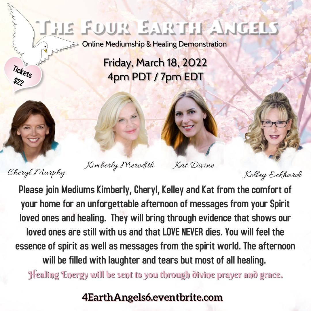 4 Earth Angels March 2022